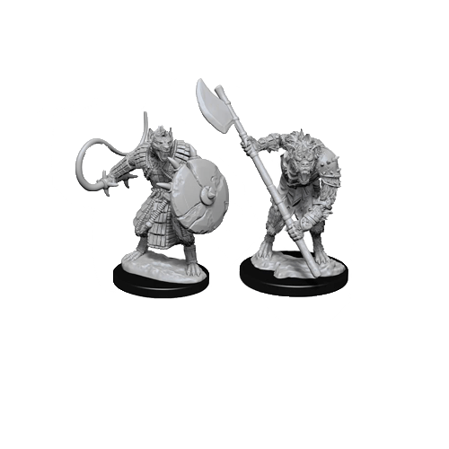 Набор Миниатюр Pathfinder Deep Cuts Unpainted Miniatures - Gnolls