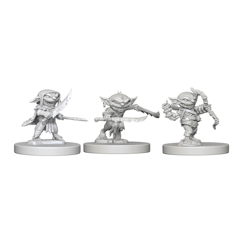 Набор Миниатюр Pathfinder Deep Cuts Unpainted Miniatures - Goblins