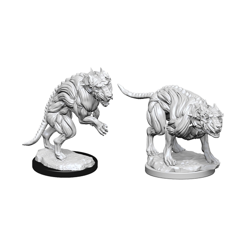 Набор Миниатюр Pathfinder Deep Cuts Unpainted Miniatures - Hell Hounds