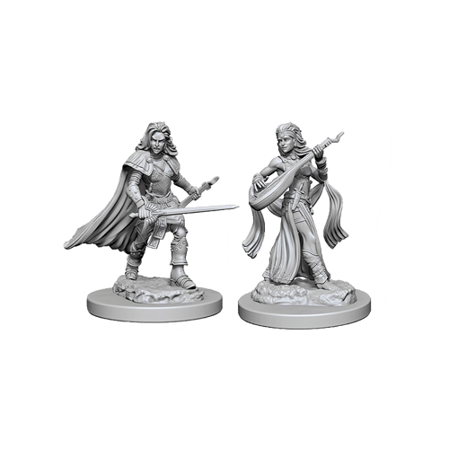 Набор Миниатюр Pathfinder Deep Cuts Unpainted Miniatures - Human Female Bard