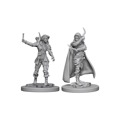 Набор Миниатюр Pathfinder Deep Cuts Unpainted Miniatures - Human Female Rogue