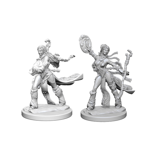 Набор Миниатюр Pathfinder Deep Cuts Unpainted Miniatures - Human Female Sorcerer