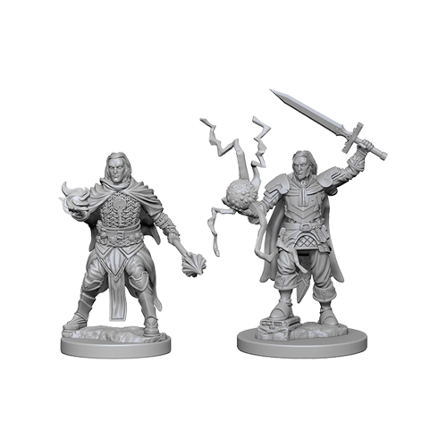 Набор Миниатюр Pathfinder Deep Cuts Unpainted Miniatures - Human Male Cleric