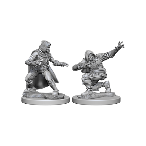Набор Миниатюр Pathfinder Deep Cuts Unpainted Miniatures - Human Male Rogue
