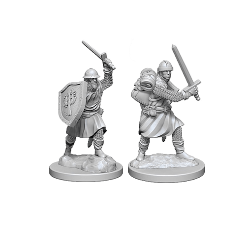 Набор Миниатюр Pathfinder Deep Cuts Unpainted Miniatures - Infantrymen