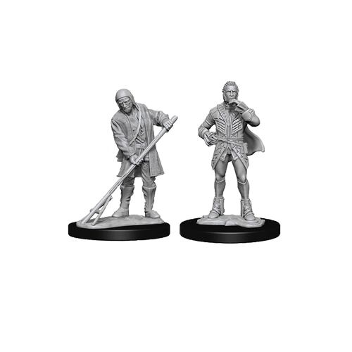 Набор Миниатюр Pathfinder Deep Cuts Unpainted Miniatures - Townspeople